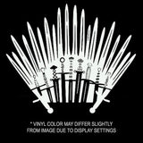 Iron Throne Wall Decal