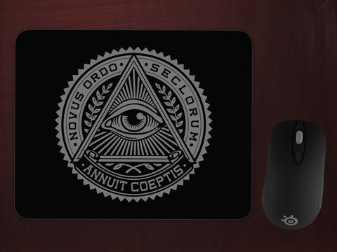 Illiuminati Seal Mousepad