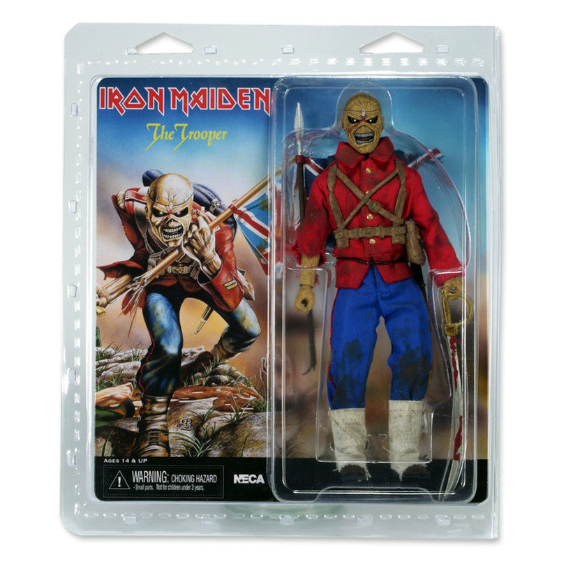 Iron Maiden: THE TROOPER Retro Style Action Figure - Domestic Platypus