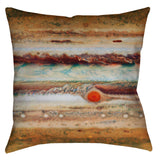 Jupiter Throw Pillow - Domestic Platypus