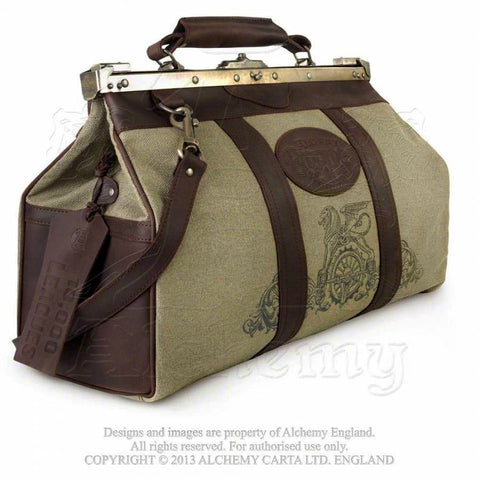 "Alchemy Empire ""10,000 Leagues"" Gladstone Bag - Domestic Platypus"