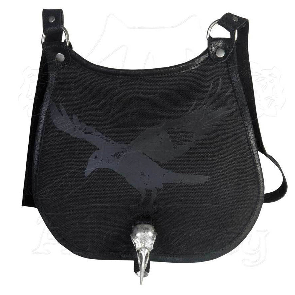 Alchemy Gothic RAVENJAGER Shoulder Bag