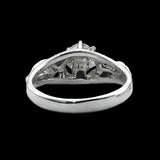 Lord of the Rings NENYA RING OF GALADRIEL Sterling Silver - Domestic Platypus