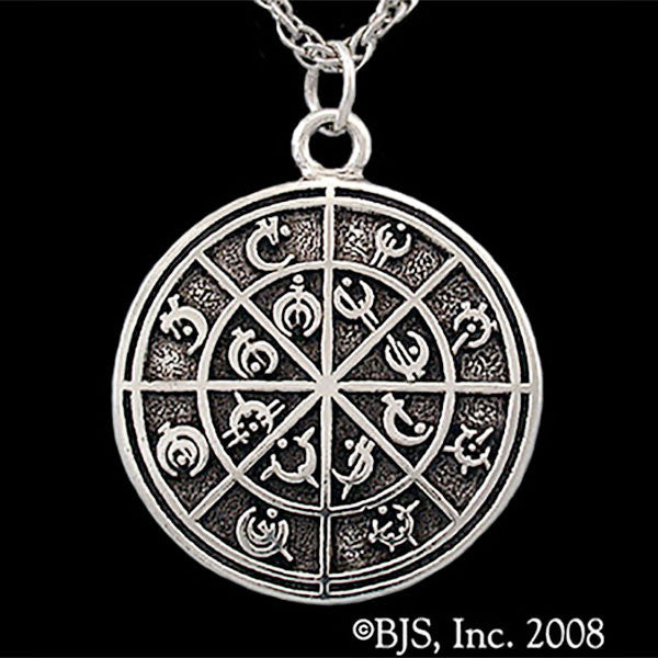Mistborn STEEL ALPHABET MEDALLION Necklace - Domestic Platypus