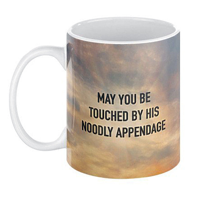 Touched By HIs Noodly Appendage Mug - Domestic Platypus