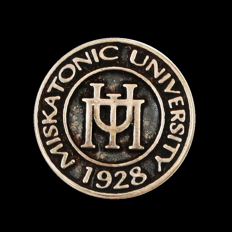 Lovecraft MISKATONIC UNIVERSITY Class Pin / Tie Tack