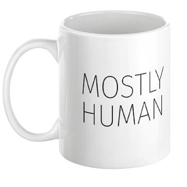 Mostly Human Mug - Domestic Platypus