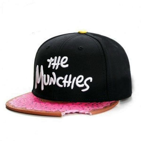 Munchies Unique Snapback Donut Cap