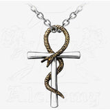 Alchemy Gothic ANKH OF TAU Pendant Necklace - Domestic Platypus
