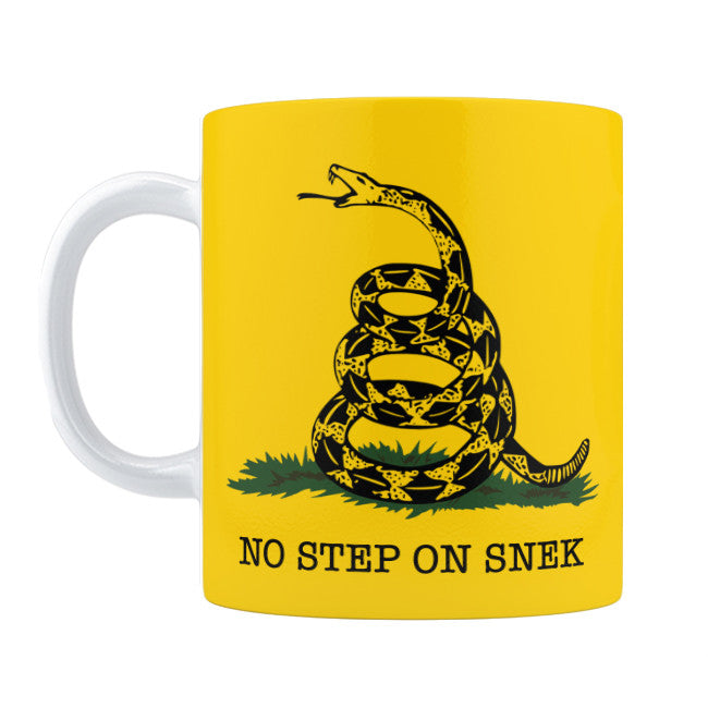 No Step On Snek Mug - Domestic Platypus
