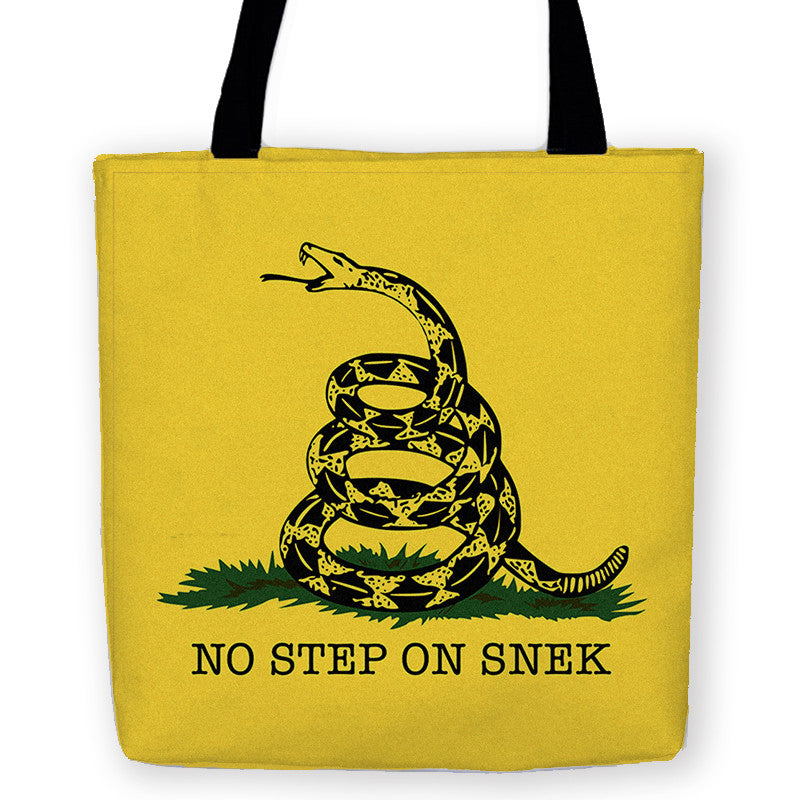 No Step on Snek Carryall Tote - Domestic Platypus