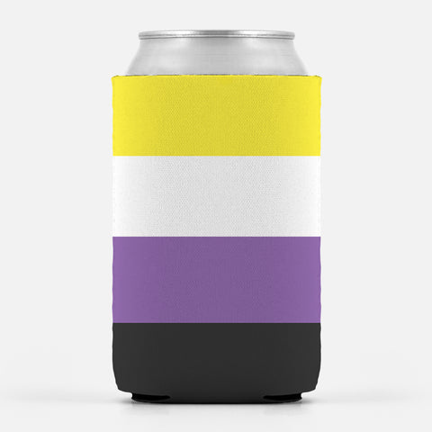 Nonbinary Pride Can Cooler