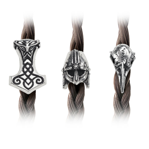 Alchemy Gothic NORSEBRAID Hair or Beard Beads - Domestic Platypus
