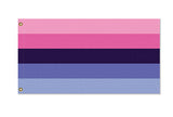 Domestic Platypus-Omnisexual Pride Flag, Custom 2x1 3x2 5x3 LGBTQIA LGBTQX Pole Banner-Flag-[meta description]