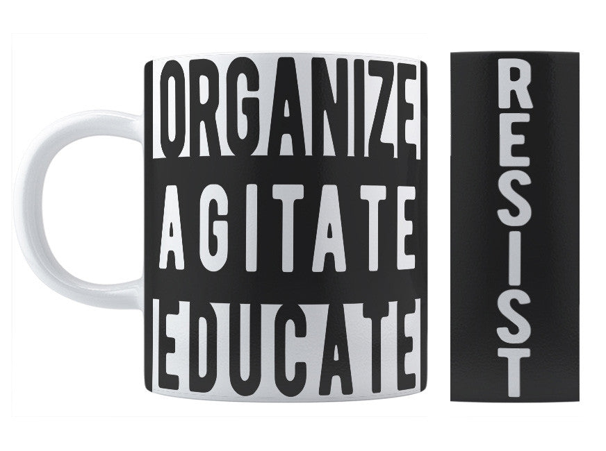 Organize Agitate Educate Mug - Domestic Platypus