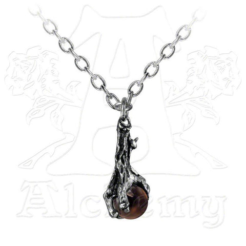 Alchemy DRAGON'S CLAW & Crystal Orb Pendant - Domestic Platypus