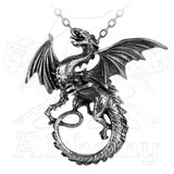 Alchemy Gothic WHITBY WYRM Dragon Pendant Necklace - Domestic Platypus