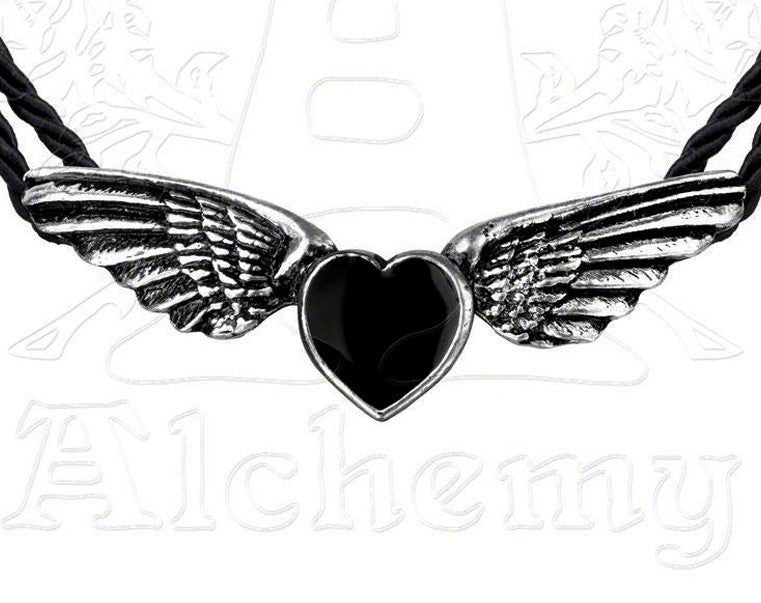 Alchemy Gothic COEUR NOIR Necklace - Domestic Platypus