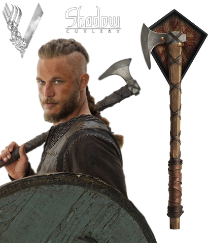 VIKINGS Prop Replica AXE OF RAGNAR LOTHBROK - Domestic Platypus