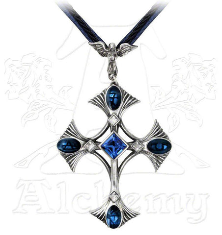 Alchemy Gothic ELEMENTAL CRUX ANGELICUS Necklace - Domestic Platypus