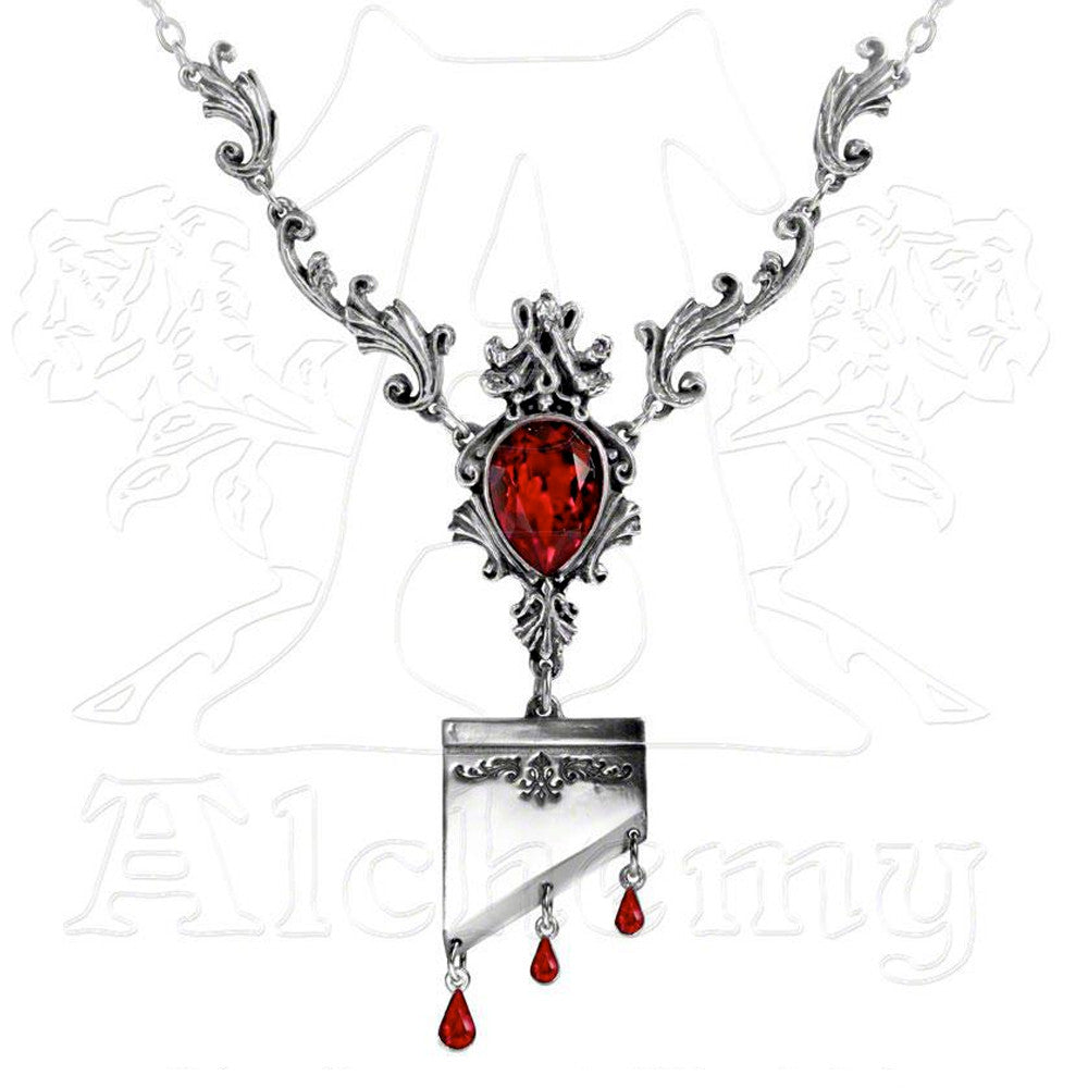 Alchemy Gothic MARIE ANTOINETTE Necklace - Domestic Platypus