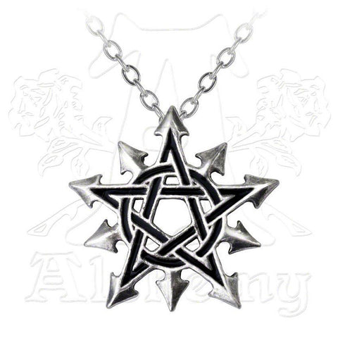 Alchemy Gothic CHAOSAGRAM Pendant Necklace - Domestic Platypus