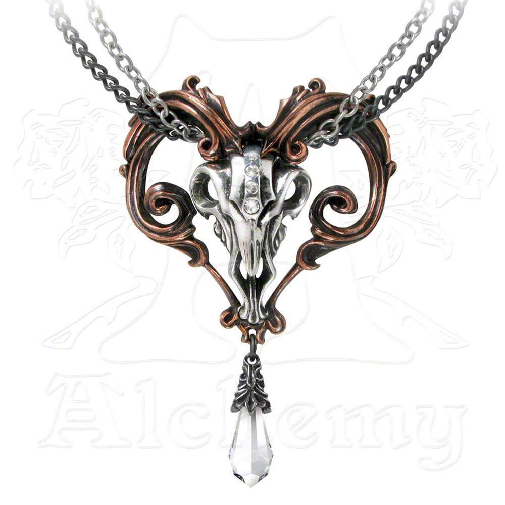 Alchemy Gothic AMON-RA Large Pendant Necklace - Domestic Platypus