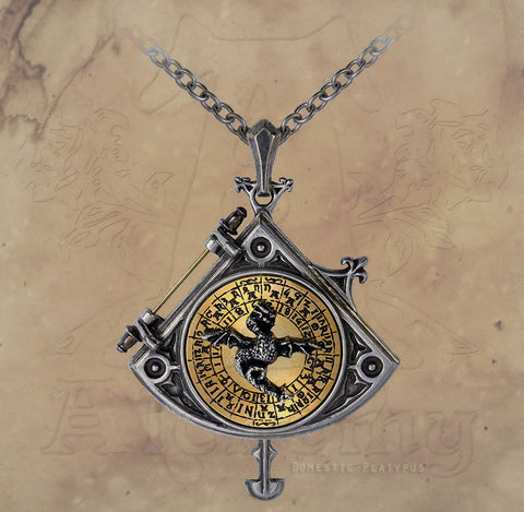 Alchemy Empire ASTRAL DRAGON Occult Locket - Domestic Platypus