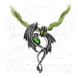 Alchemy Gothic EMERALD DRAGON Choker - Domestic Platypus