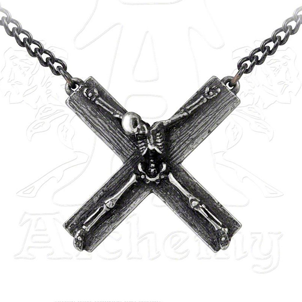 Alchemy Metal-Wear CRUCIFACATION Necklace - Domestic Platypus