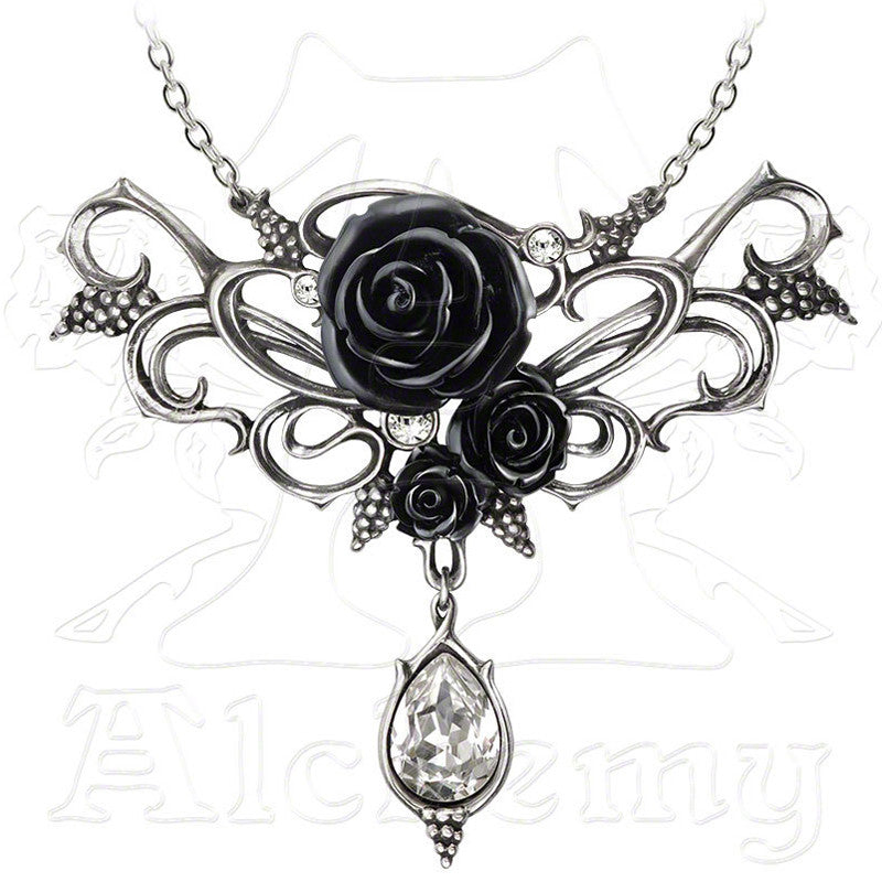 Alchemy Gothic BACCHANAL ROSE Necklace