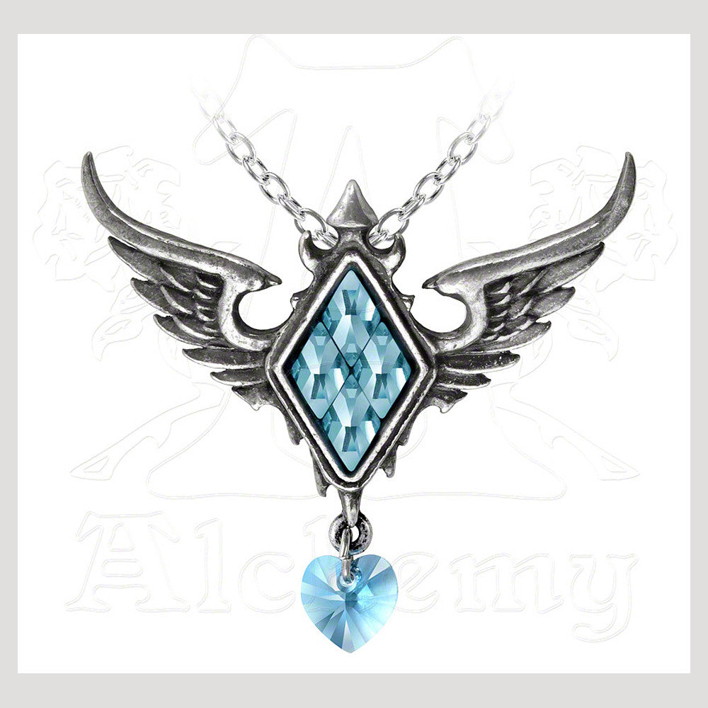 Alchemy ICE QUEEN'S FROZEN HEART Pendant Necklace - Domestic Platypus