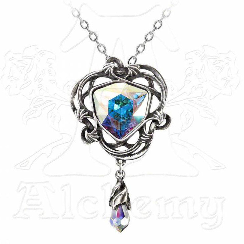 Alchemy Gothic EMPYRIAN EYE Pendant Necklace - Domestic Platypus