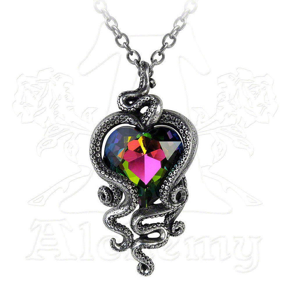 Alchemy Gothic HEART OF CTHULHU Pendant Necklace
