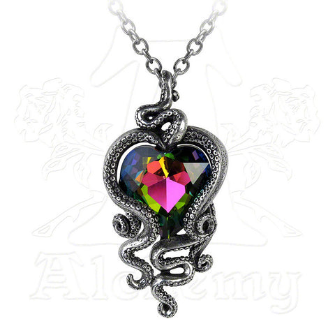 Alchemy Gothic HEART OF CTHULHU Pendant Necklace - Domestic Platypus