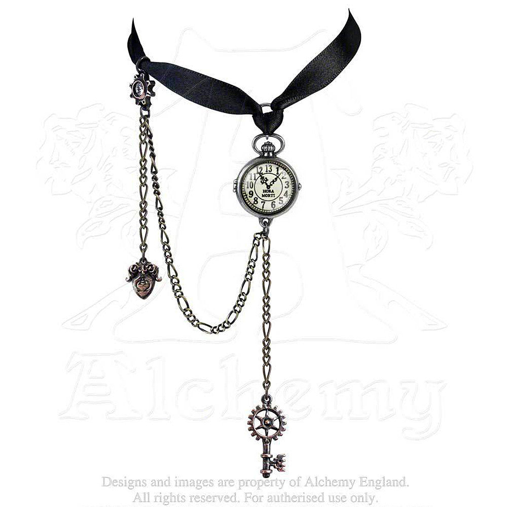 Alchemy Empire UNCLE ALBERT'S TIMEPIECE Choker - Domestic Platypus