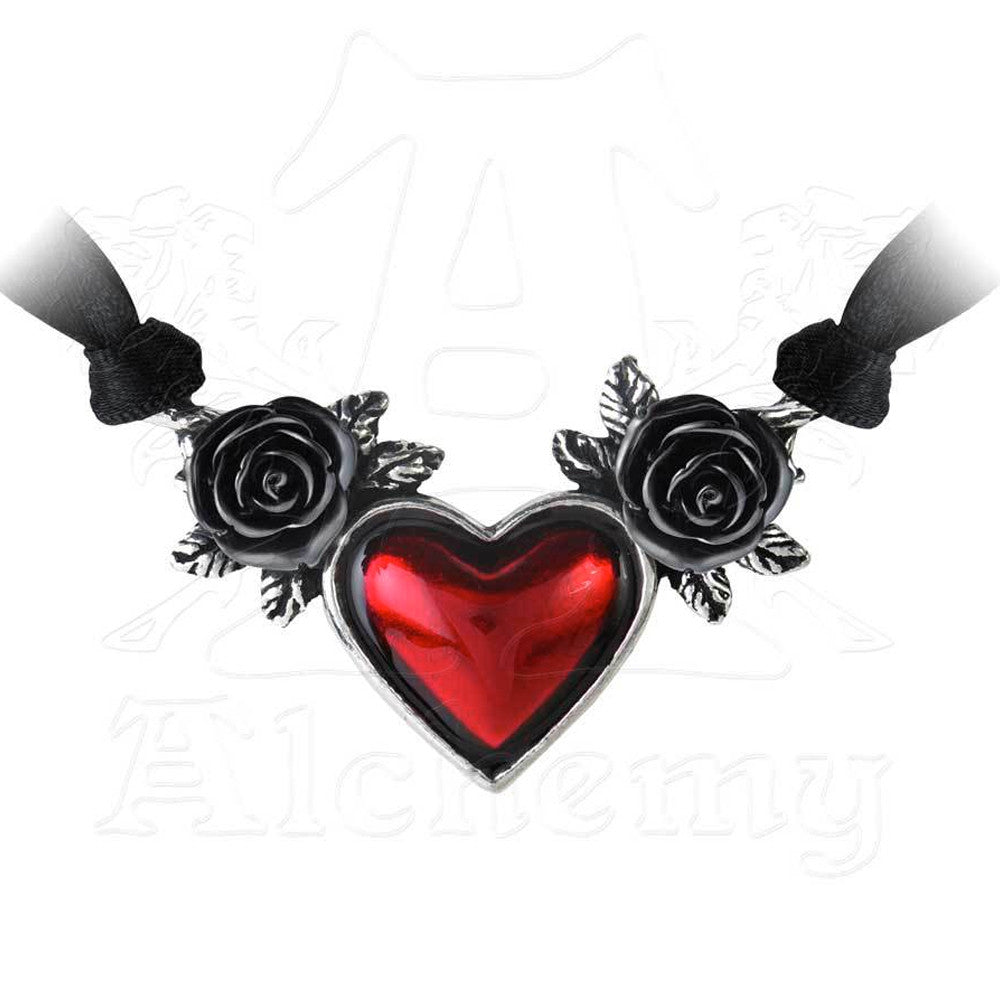 Alchemy Gothic BLOOD HEART Choker