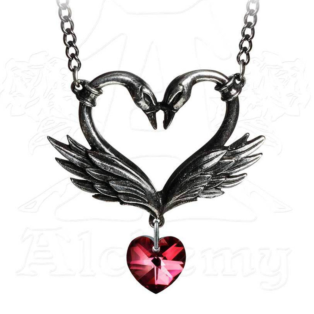 Black Swan Romance Necklace - Domestic Platypus