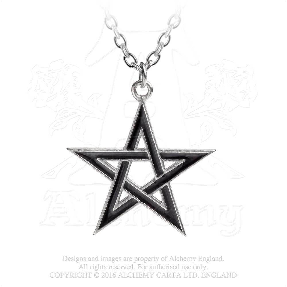 Alchemy BLACK STAR Pendant Necklace - Domestic Platypus
