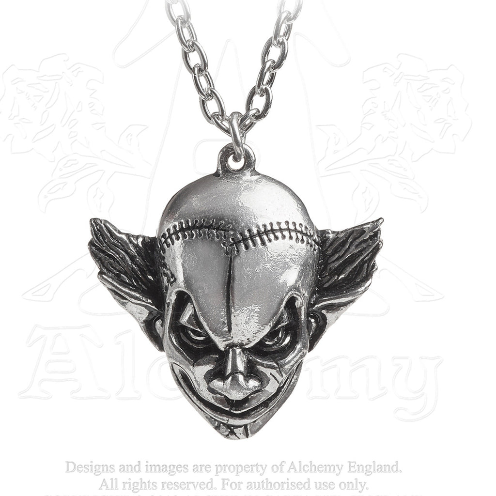 Alchemy Gothic M'era Luna EVIL CLOWN Necklace - Domestic Platypus