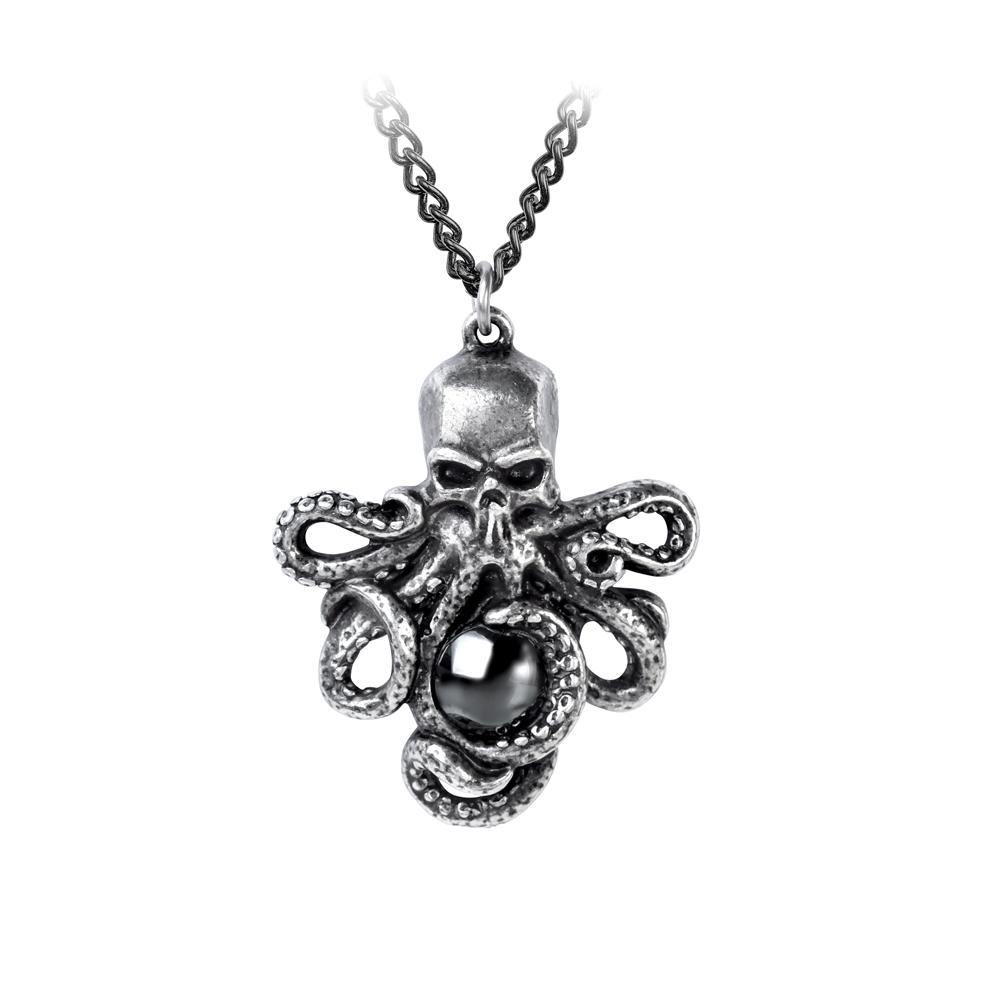 Mammon of the Deep Necklace, Alchemy Gothic x Plage Noir