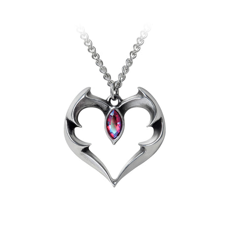 BatHeart Necklace Set, Alchemy Gothic