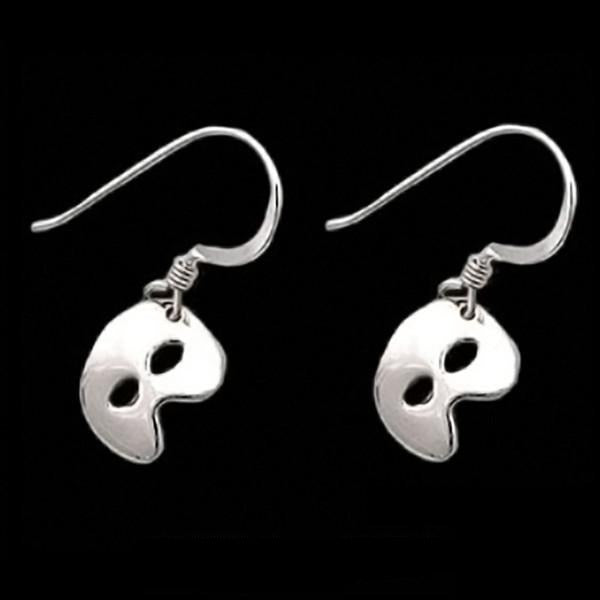 PHANTOM OF THE OPERA Mask Earrings - Domestic Platypus