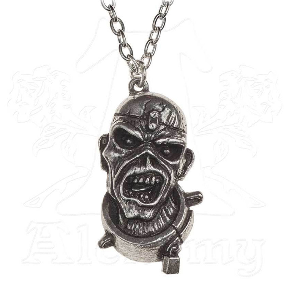 Iron Maiden PIECE OF MIND Eddie Necklace - Domestic Platypus