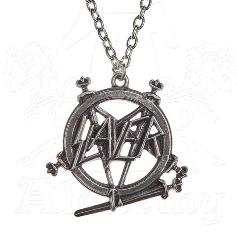 Slayer Pentagram Logo Necklace - Domestic Platypus