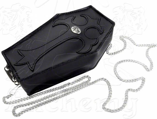 Alchemy Gothic COFFIN Purse - Domestic Platypus