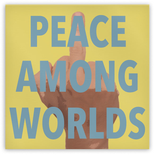 Peace Among Worlds Magnet - Domestic Platypus