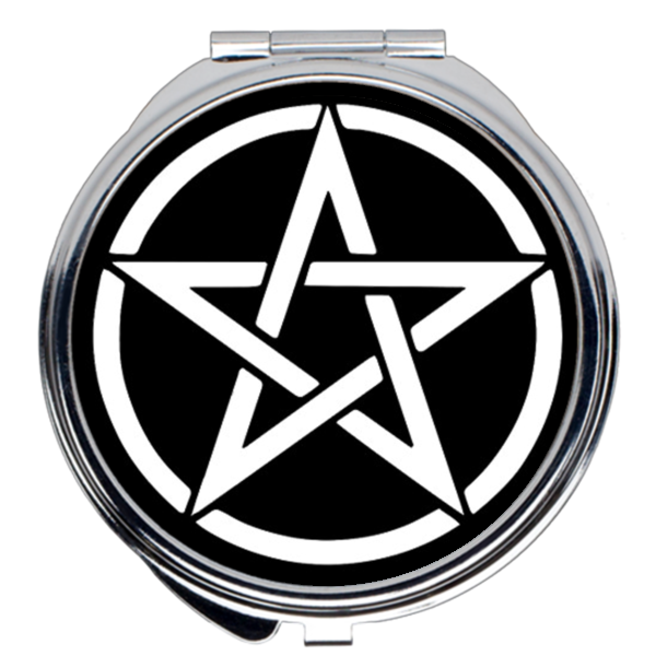 Pentacle Compact Mirror