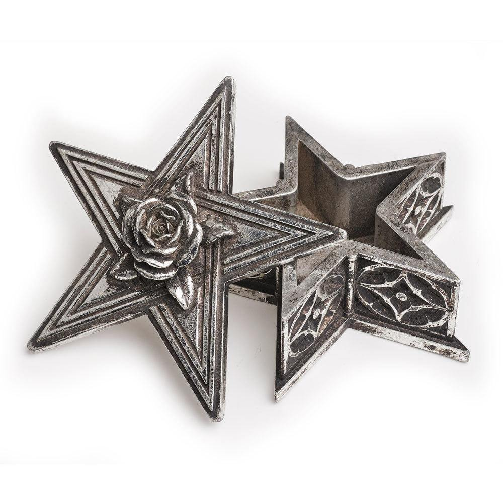 Pentagram Rose Trinket Box, Alchemy Gothic