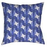 Pinwheel Navigator Throw Pillow